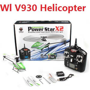 Wltoys V930 Power Star X2 RC Helicopter