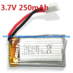 WLtoys WL V966 RC helicopter spare parts battery 3.7V 250mAh