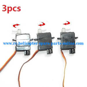 WLtoys WL V966 RC helicopter spare parts SERVO 3pcs
