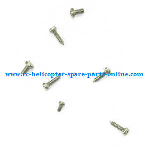 WLtoys WL V977 RC helicopter spare parts screws