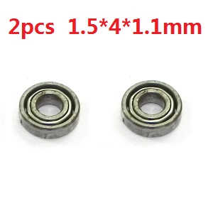 WLtoys WL V977 RC helicopter spare parts bearing (1.5*4*1.1mm 2pcs)