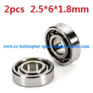 WLtoys WL V977 RC helicopter spare parts bearing (2.5*6*1.8mm 2pcs)