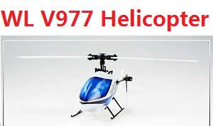 WLtoys V977 helicopter body without transmitter,battery,charger,etc.