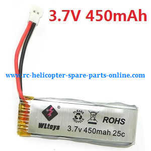 WLtoys WL V977 RC helicopter spare parts battery 3.7V 450mAh