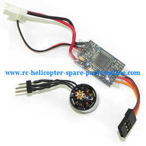 WLtoys WL V977 RC helicopter spare parts ESC board set + brushless motor
