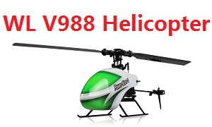 Wltoys WL V988 2.4G 4 channel power star 2 RC Helicopter