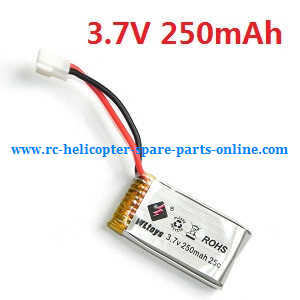 WLtoys WL V988 RC helicopter spare parts battery 3.7V 250mAh