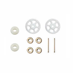 MJX X102H RC quadcopter spare parts main gear*2 + fixed ring set*2 + bearing*4 + hollow pipe*2