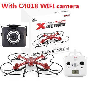 MJX X102H RC quadcopter with C4018 WIFI camera