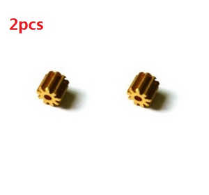 MJX X102H RC quadcopter spare parts small copper gear on the motor 2pcs