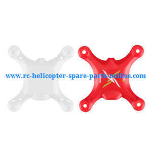 Syma X12 X12S quadcopter spare parts upper and lower cover (Red)