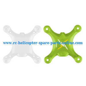 Syma X12 X12S quadcopter spare parts upper and lower cover (Green)