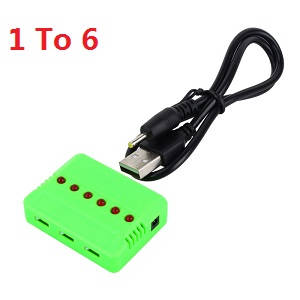 XK X130-T RC Quadcopter spare parts 1 to 6 charger box
