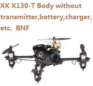 XK X130-T Body without transmitter,battery,charger,etc. BNF