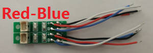 XK X130-T RC Quadcopter spare parts Red-Blue LED bar board