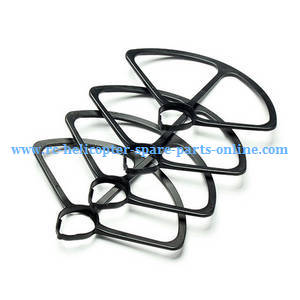 Xinlin X181 RC Quadcopter spare parts protection frame set (Black)