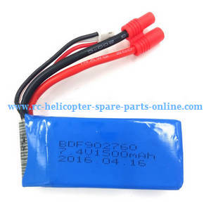Xinlin X181 RC Quadcopter spare parts battery 7.4V 1500mAh