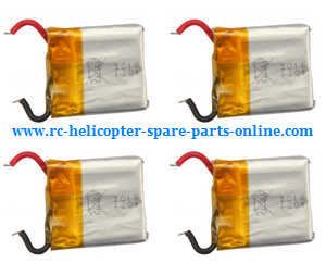 Syma X20 X20-S RC quadcopter spare parts battery 3.7V 180mAh 4pcs