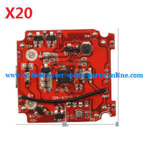 Syma X20 X20-S RC quadcopter spare parts PCB board (X20)