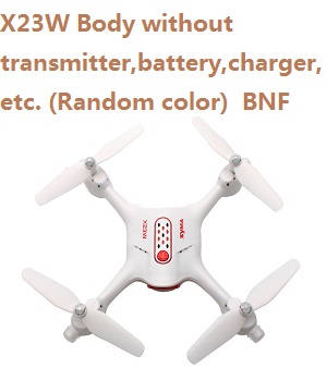 Syma X23W Body without transmitter,battery,charger,etc. BNF (Random color)