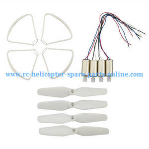 Syma X23W X23 RC quadcopter spare parts main blades + protection frame set + main motors