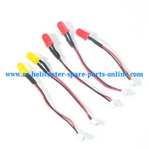 XK X250 quadcopter spare parts LED light set 5pcs