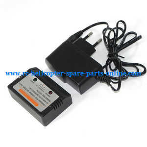 XK X252 quadcopter spare parts charger + balance charger box