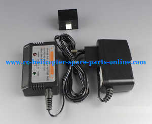 XK X252 quadcopter spare parts charger + balance charger box + battery conenct adapter