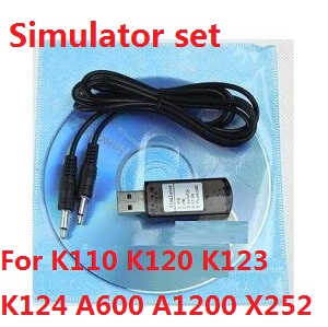 XK X252 quadcopter spare parts simulator set
