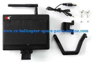 XK X252 quadcopter spare parts FPV monitor set
