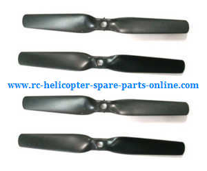 XK X252 quadcopter spare parts main blades propellers (Black)