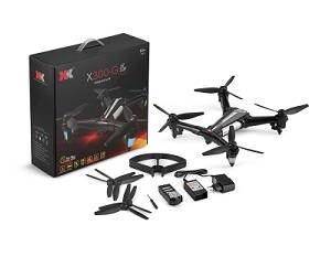 XK X300-G RC Drone with GPS and 5G WIFI 720P camera controlled by phone