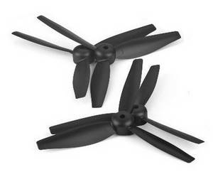 XK X300-G RC quadcopter spare parts main blades (Black)
