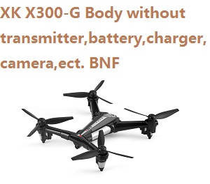 XK X300-G Body without transmitter,battery,charger,camera,etc. BNF