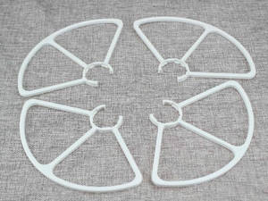 XK X300-G RC quadcopter spare parts protection frame set (White)