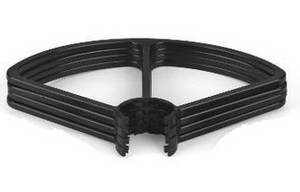 XK X300-G RC quadcopter spare parts protection frame set (Black)