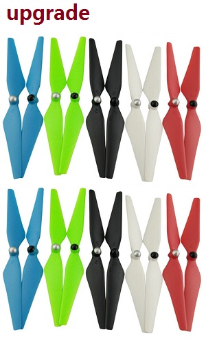 XK X380 X380-A X380-B X380-C quadcopter spare parts upgrade main blades propellers 5 colors