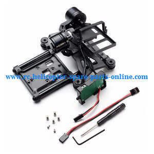 XK X380 X380-A X380-B X380-C quadcopter spare parts 2 Axis brushless gimbal for Gopro sports camera
