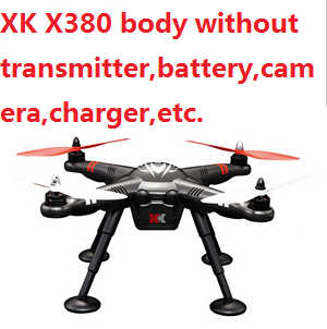 XK X380 drone body without transmitter,battery,camera,charger,etc.