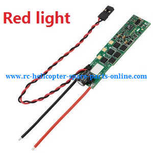 XK X380 X380-A X380-B X380-C quadcopter spare parts ESC board (Red light)