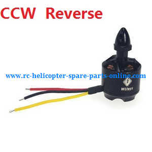 XK X380 X380-A X380-B X380-C quadcopter spare parts brushless motor with bullet head nut (CCW Reverse)