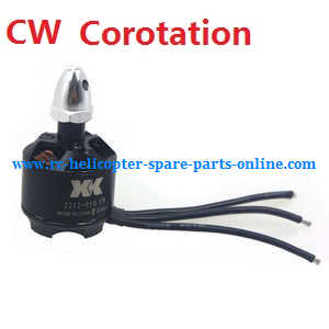 XK X380 X380-A X380-B X380-C quadcopter spare parts brushless motor with bullet head nut (CW Corotation)