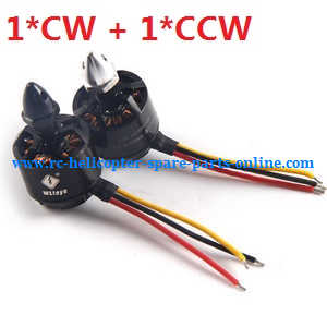 XK X380 X380-A X380-B X380-C quadcopter spare parts brushless motor with bullet head nut (1*CW + 1*CCW)