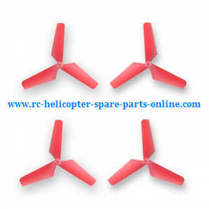 Syma x4 x4a x4s quadcopter spare parts main blades (Red)