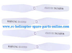 Syma X56pro X56W-P RC quadcopter spare parts main blades (White)