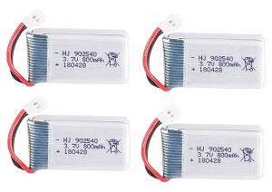 SYMA x5 x5a x5c x5c-1 RC Quadcopter spare parts 3.7V 800mAh battery 4pcs