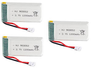 SYMA x5 x5a x5c x5c-1 RC Quadcopter spare parts 3.7V 1200mAh battery 3pcs