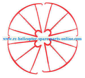 SYMA x5 x5a x5c x5c-1 RC Quadcopter spare parts protection set (Red)