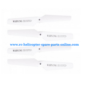 SYMA x5 x5a x5c x5c-1 RC Quadcopter spare parts propeller main blades (White)