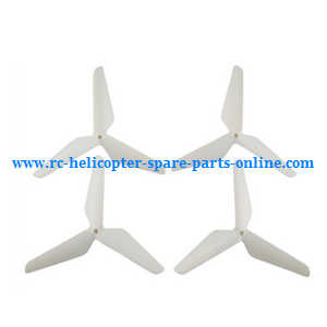 SYMA x5 x5a x5c x5c-1 RC Quadcopter spare parts upgrade Three leaf shape blades (White)